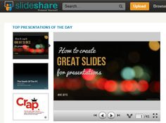 SlideShare is the world's largest community for sharing presentations. With 60 million monthly visitors and 130 million pageviews, it is amongst the most visited 200 websites in the world. Besides presentations, SlideShare also supports documents, PDFs, videos and webinars.