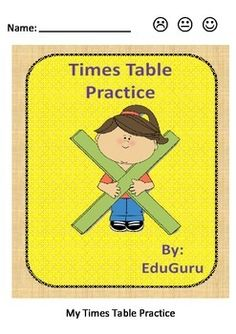 Times Tables Practice is a quick time filler that support students in practicing and reflecting on how well they know their Times Tables.Students get the answer sheet after completing 2 wheels - They then self assess in order to reflect on their progress!