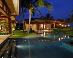 Tropical Pool Design, Pictures, Remodel, Decor and Ideas - page 29. Pool and guest house