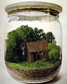 How To Make A Fairy Garden Terrarium - Ilona's Garden | Ilona's Garden