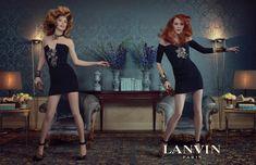 Lanvin Fall 2011 Campaign | Raquel Zimmermann & Karen Elson by Steven Meisel
