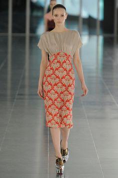Jonathan Saunders ( BFC/Vogue Fashion Fund Winner) - Autumn/Winter 2011/12