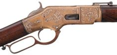 peashooter85:  Engraved Winchester Model 1866,Estimated Value:...