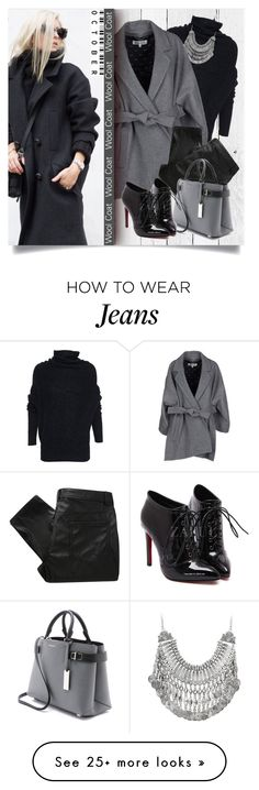 """""""Wool Coat"""" by lenochca on Polyvore featuring NLXL, Acne Studios, Kenzo, MW Matthew Williamson and Michael Kors"""
