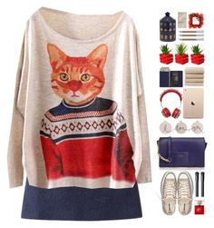 """""""#670"""" by giulls1 ❤ liked on Polyvore featuring Converse, Furla, Dolce&Gabbana, Kate Spade, NARS Cosmetics, Royce Leather, Christy, Fornasetti, Faber-Castell and Toast"""