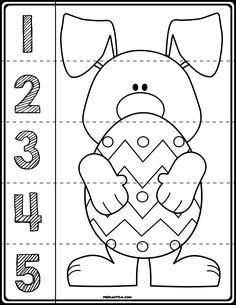 √ Easter Color by Number Preschool Worksheet . 6 Easter Color by Number Preschool Worksheet . Numbers Preschool, Free Preschool, Preschool Printables, Preschool Worksheets, Preschool Crafts, Preschool Prep, Easter Worksheets, Easter Activities, Easter Crafts For Kids