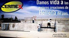 Portones - Barandales - Puertas - Louvers - Rejillas Estructuras para arquitectos. Herrería artística. Herrería Monterrey. Herrería contemporánea. www.cermex.mx
