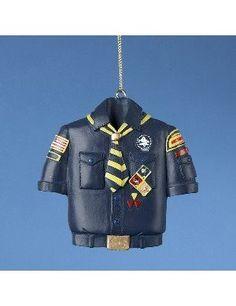 A cub scout ornament.