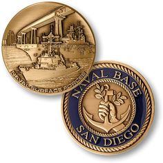 Custom Forces Challenge NAVAL SURFACE FORCES SAN DIEGO Replica custom coin
