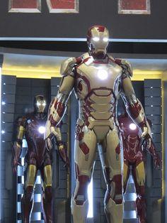 Marvel Reveals 'Iron Man 3' Suit - DesignTAXI.com