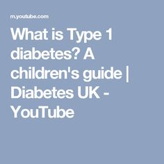 What is Type 1 diabetes  A children s guide  b4abff9b9a090