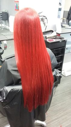 Red Hair - No Extensions