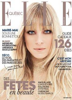 ELLE Québec - Couverture de notre numéro de décembre avec Marie-Mai.