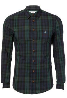 Vivienne Westood One Button Classic Stretch Shirt