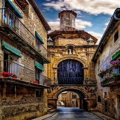 Calaceite, Teruel Spain by Jose Luis Mieza Places Around The World, Around The Worlds, Barcelona, Voyage Europe, Balearic Islands, Spain And Portugal, Places Of Interest, Spain Travel, Dream Vacations
