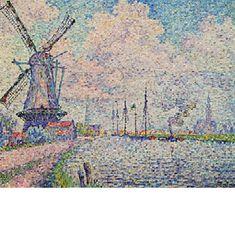 Paul Signac - オーヴェルシーの運河
