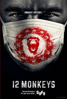 YOU GUYS. YOU SHOULD BE WATCHING THIS SHOW. Yes, YOU. Whoever you are, following my board. Go queue up the On Demand, you can still catch up. 12 Monkeys -Syfy