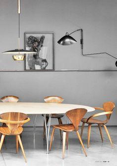 #contemporary #modern #dining_room