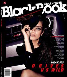 Mila Kunis – Blackbook Magazine (December 2009)