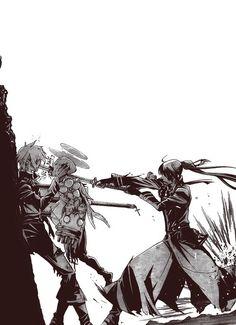 allen walker, d.gray-man, and manga Bild