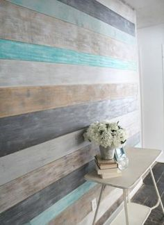 DIY Wood Wall - Lovely Etc.
