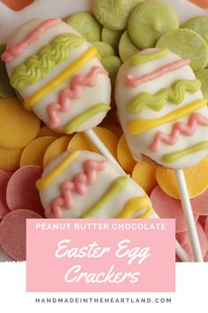 These chocolate covered peanut butter Easter egg crackers are a simple and quick Easter treat. With only a few ingredients you've got a festive spring treat that the kids can help you make! Nut Recipes, Bakery Recipes, Dessert Recipes, Spring Recipes, Easter Recipes, Holiday Recipes, Easter Dishes, Easter Eggs, Chocolate Covered Peanuts