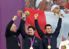 Tiro con l'arco, primo oro italiano (Reuters)