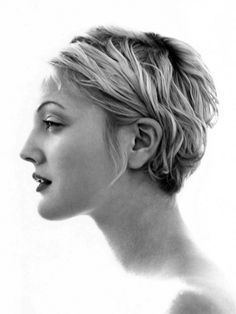 Drew Barrymore. She has her famous GrandFather's profile.