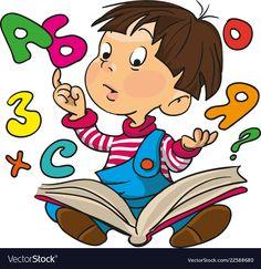Carolyn Oravitz: Grammar - Good or Bad in Children's Literature School Cartoon, Cartoon Kids, School Book Covers, Classroom Wall Decor, Kids Background, School Labels, School Clipart, Cross Stitch For Kids, Alphabet For Kids