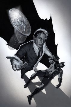 Two-Face vs. Batman by No-Sign-of-Sanity on @DeviantArt