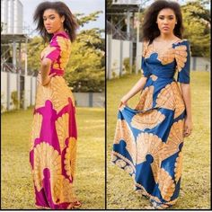 Ankara Gown Design for Ladies  http://www.dezangozone.com/2015/08/ankara-gown-design-for-ladies.html