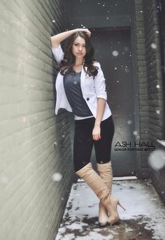 Winter is also great season for Senior Pictures! Winter baby? Favorite season? Why not?!