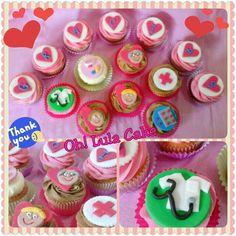 Hospital cupcake