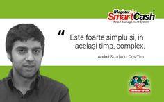 """Reteaua de #magazine Cris-Tim foloseste solutiile SmartCash #Retail Management System, dezvoltate de Magister. De ce le prefera? Andrei Scortariu din echipa Cris-Tim spune - din experienta! - ca SmartCash """"este foarte simplu si, in acelasi timp, complex"""". #software Mai multe, in materialul #video de pe canalul nostru YouTube: https://www.youtube.com/watch?v=IoHqTZPJQPE&list=UUDklfu6-VCxY8Vqf4y61GxA"""
