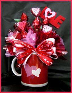 Candy Bouquet in a mug