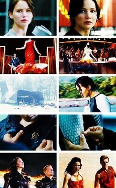 The Hunger Games/Catching Fire One of the things I loved about the books how things repeated themselves.