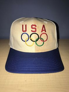 c0d27e3bf65a5 Vintage USA Olympics Snapback  Hat  fashion  clothing  shoes  accessories   mensaccessories  hats (ebay link)