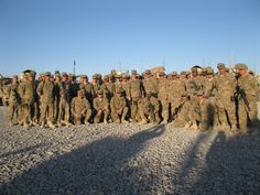 151st Engineers Deployed to Afghanistan - photo from @NCTAG and @NCSCSM visit with the troops.