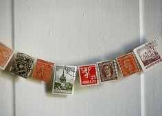 Sepia Smiles: vintage stamps