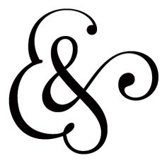 A2 Flowers Ampersand