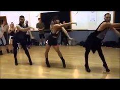 Coreografia de hombres bailando con tacones con musica de Beyonce - YouTube