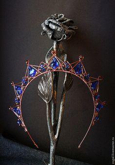 "Tiaras, hoops handmade. Fair Masters - handmade diadem-crown in the film ""Magnificent Century"" №1. Handmade."