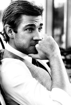 John Krasinski. He's just perfect :-)