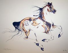 Sarah Richards horse paintings -- I saw these in a hospital years ago but didn't get the name of the artist! So glad I found this! Her art is amazing!