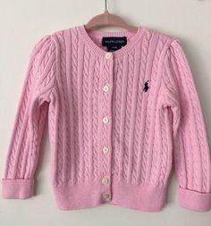 Ralph Lauren Polo Girl's Pink Sweater Size 24 Months  #PoloRalphLauren #ebay