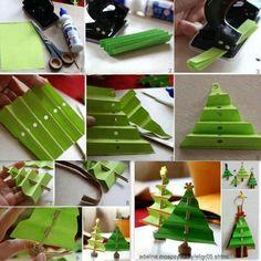 Kerstboom... Deze is simpel maar heel leuk!