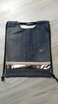 Jeans#drawstring#diy#bag