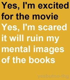 I'm excited for the movie, but...