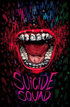 Suicide Squad by Cristiano Siqueira - Home of the Alternative Movie Poster -AMP-