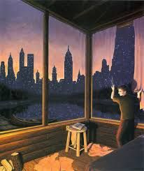 Optical Illusion Paintings by Artist Robert Gonsalves Crazy Optical Illusions, Optical Illusion Paintings, Illusion Kunst, Illusion Art, Canadian Painters, Canadian Artists, Robert Gonsalves, Psy Art, Magic Realism
